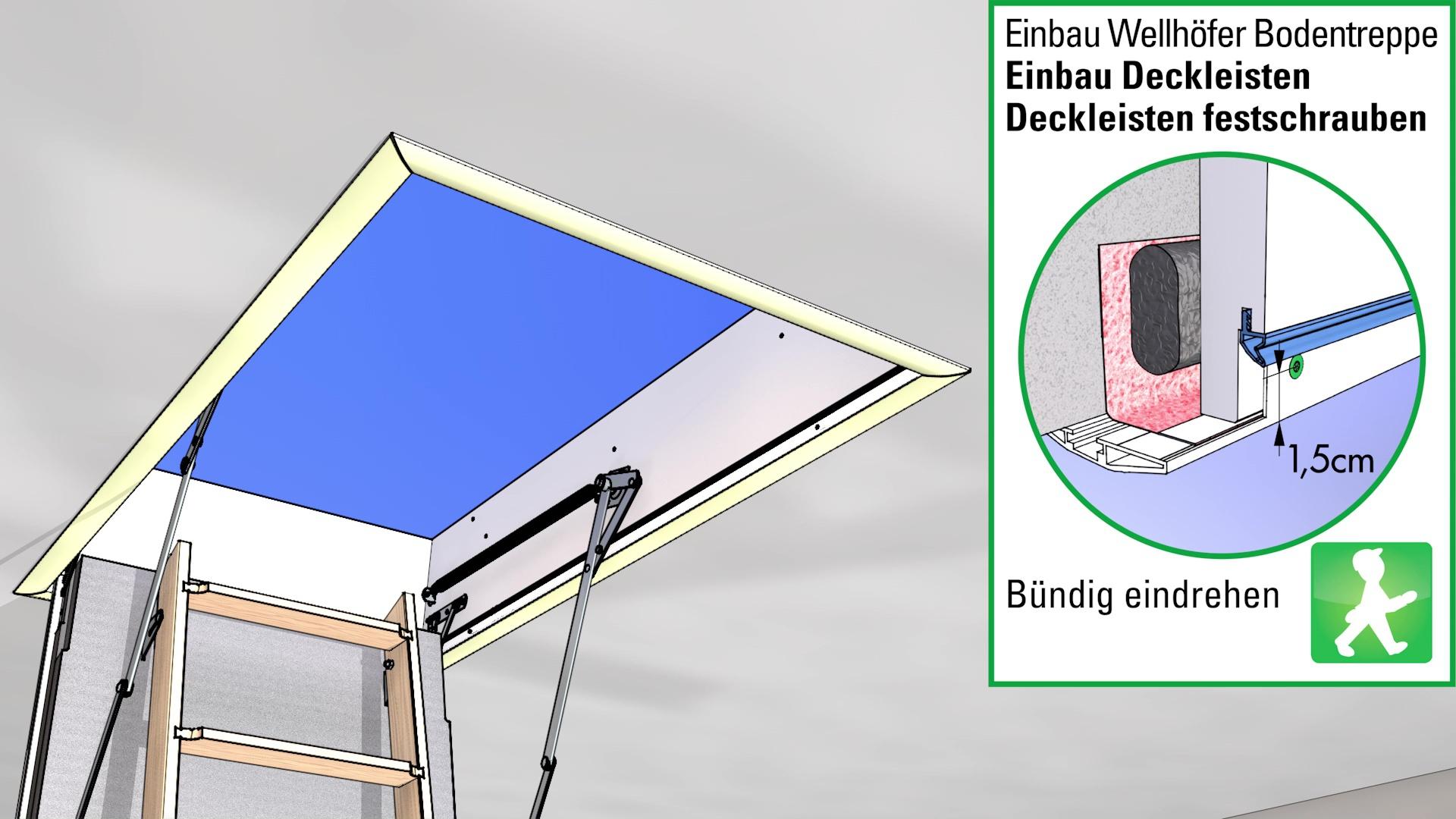 Wellhofer Treppen Videoanleitung Bodentreppen Richtig Einbauen So